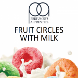 TPA Fruit Circles With Milk